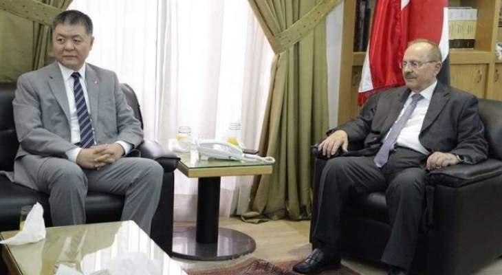 الناشف: نشكر الصين على ما تقدمه من دعم للبنان وللنازحين