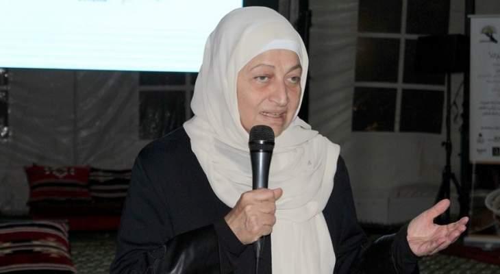 بهية الحريري: نريد ان نعكس حركة رمضان وما بعده بالمزيد من النهوض لصيدا