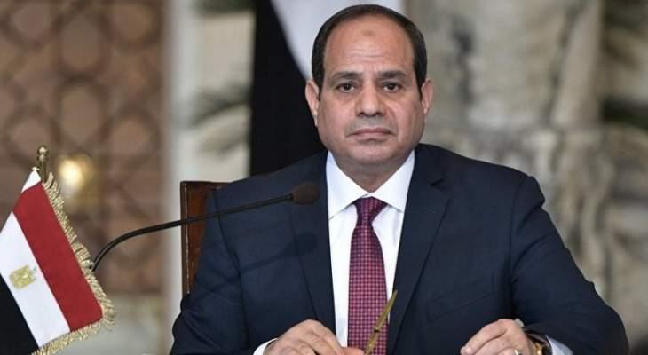 السيسي: مصر والسعودية جناحا هذه الأمة