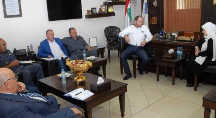 الحريري عرضت مع المفتي سوسان تطورات الوضع في صيدا