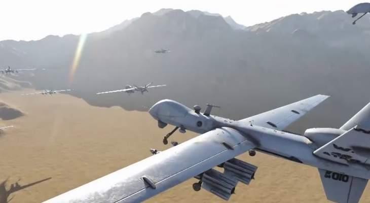 """""""أنصار الله"""" تعلن تنفيذ هجوم على مرابض الطائرات الحربية بمطار نجران"""