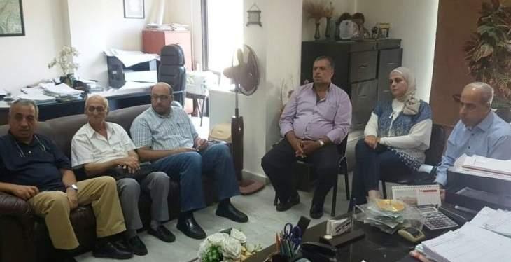 اللواء خير تفقد أعمال رش المبيدات الحشرية في طرابلس