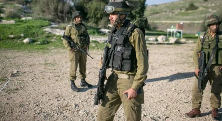 الجيش الإسرائيلي: اعتقال 15 فلسطينيا في مناطق مختلفة بالضفة الغربية