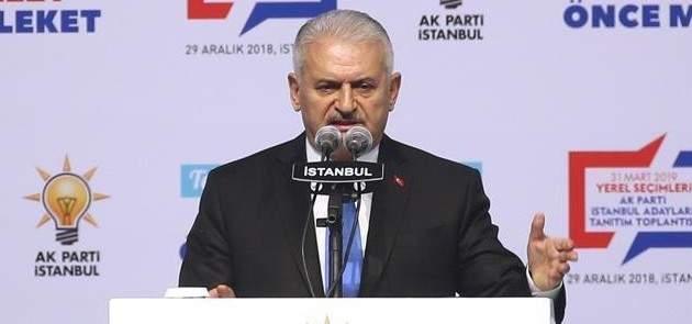 يلدريم: أنا مدين بتقديم أفضل الخدمات لاسطنبول وسكانها وبتنفيذ مشاريع جديدة