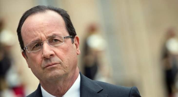 القضاء الفرنسي استمع لهولاند كشاهد في قضية مقتل صحافيين اثنين في مالي