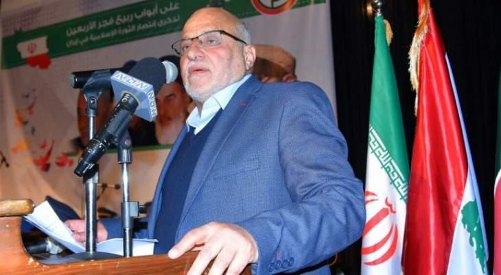 خليل حمدان: المقاومة حاجة ملحة في هذه المرحلة الحساسة والدقيقة