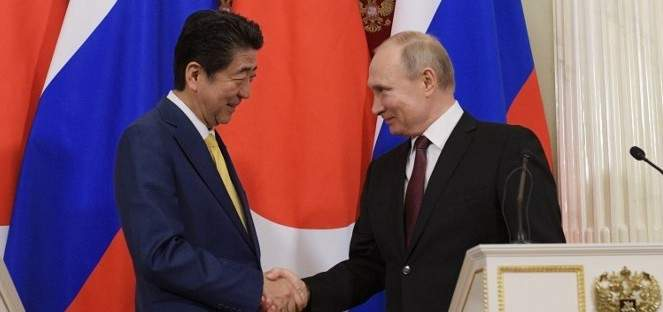 بوتين وآبي أصدرا توجيهات جديدة بشأن معاهدة السلام