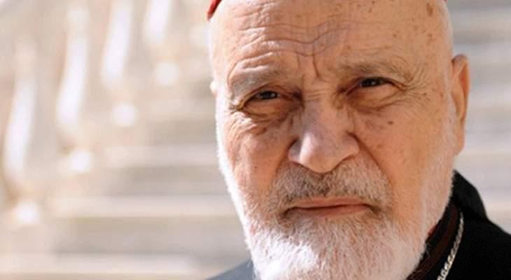 شارل الحاج: بوفاة صفير خسرنا قائدا ورمزا من رموز الشجاعة والنزاهة