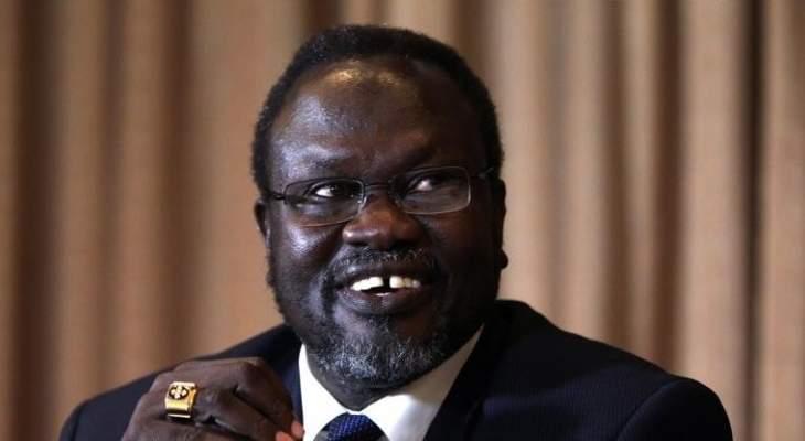 زعيم معارض بجنوب السودان استبعد تشكيل حكومة وحدة وطنية قبل 12 أيار