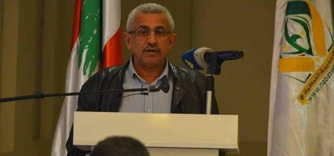 اسامة سعد: نظام المحاصصة لم يقدم للبنانيين الا الازمات