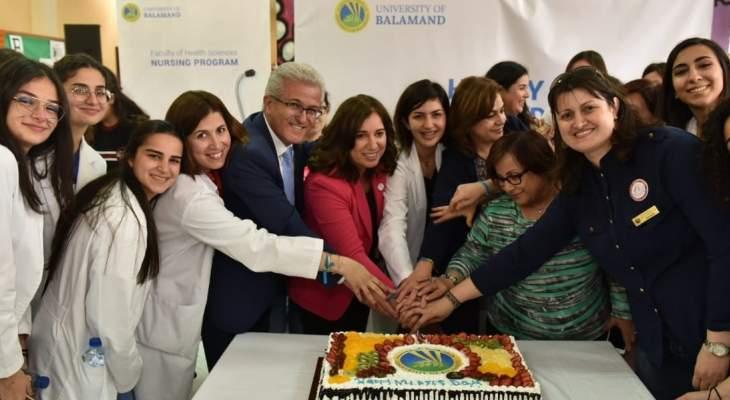 """جامعة البلمند نظمت نشاط """"يوم صحة العائلة"""" بمناسبة يوم الممرض/ة العالمي"""