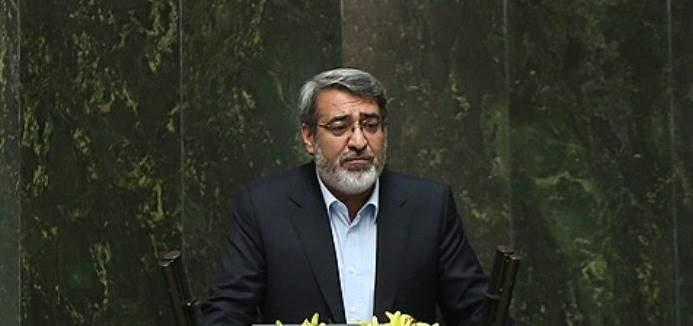 وزير الداخلية الايراني: الظروف الامنية في المناطق الحدودية شهدت تحسنا ملحوظا