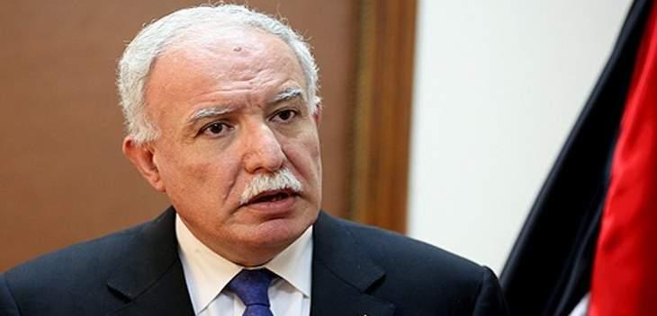 وزير الخارجية الفلسطيني: عباس مستعد للقاء نتانياهو في موسكو