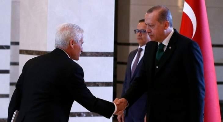 أردوغان تسلم أوراق اعتماد سفير دولة مالطا الجديد لدى أنقرة