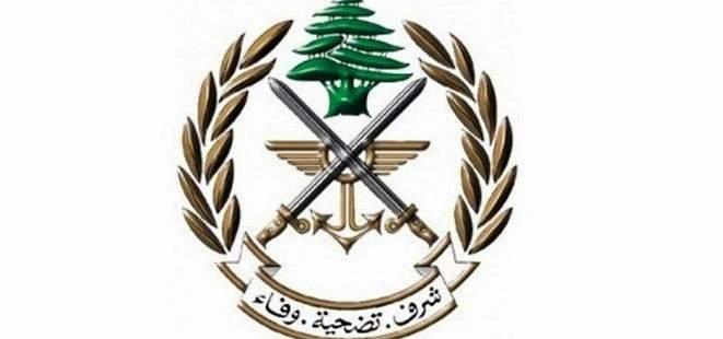 الجيش: توقيف فلسطيني بجرم الانتماء للتنظيمات الإرهابية وشارك بالقتال داخل عين الحلوة