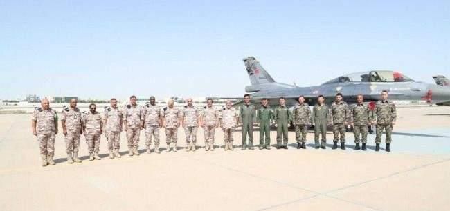 """القوات الجوية التركية تشارك في تمرين """"صقر 21"""" مع القوات القطرية"""