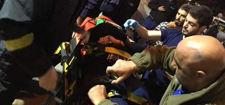 الدفاع المدني: جريحة نتيجة حادث سير في جونية