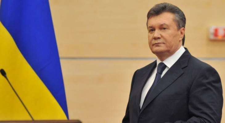 محامي الرئيس الأوكراني السابق: يانوكوفيتش ينوي العودة إلى أوكرانيا