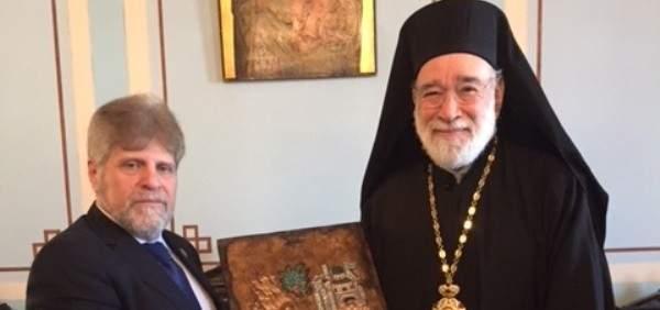 المجلس الارثوذكسي زار عوده : قانون الانتخاب يشكل فرصة لتمثيل الجميع