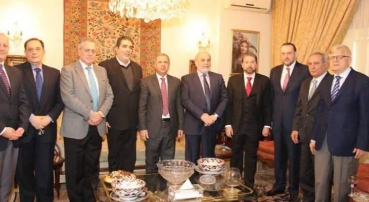 تقي الدين: مصلحة لبنان تقتضي في إقامة علاقات متينة مع سوريا