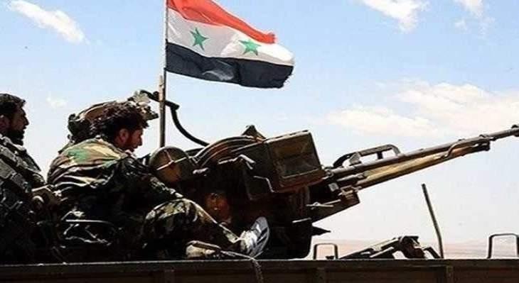 النشرة: الجيش السوري يطلق عملية عسكرية باتجاه محيط منطقة التنف