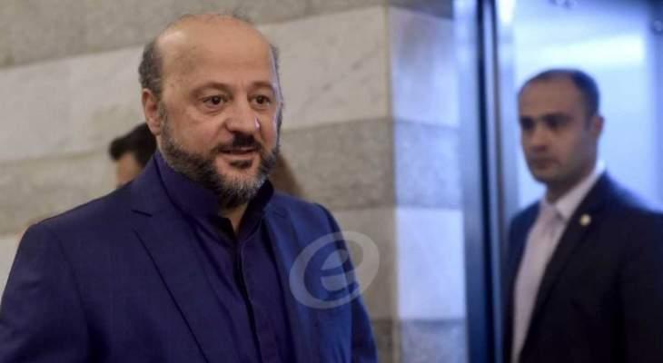 الرياشي زار عوده وأطلعه على المفاوضات مع المستقبل والوطني الحر