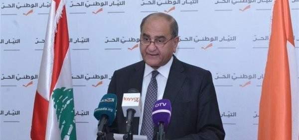 وزير البيئة تقدم بترشيحه الى الانتخابات عن المقعد السني في الشوف