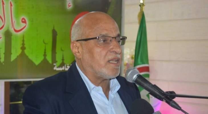 خليل حمدان أشاد بإنعقاد مؤتمر القدس محور الوحدة الإسلامية