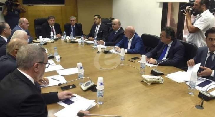 لجنة الاقتصاد الوطني والتجارة والصناعة والتخطيط عقدت جلستها الاولى