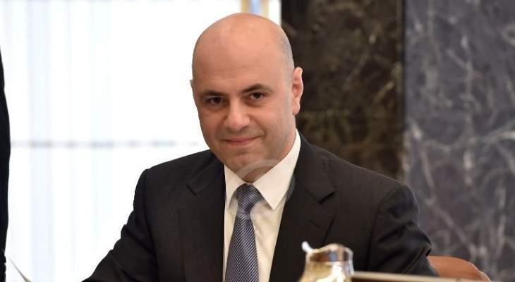 """غسان حاصباني لـ""""النشرة"""": لا نية لدى الادارة الأميركية بايذاء لبنان كدولة والحريري سيطرح في بروكسل السياسة اللبنانيّة العامة بملفّ النازحين"""