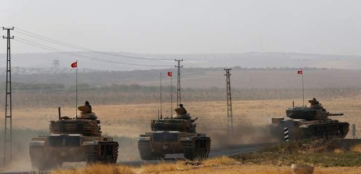 الأناضول: تركيا ترسل وحدات عسكرية لقطعاتها المنتشرة على الحدود مع سوريا