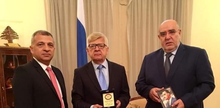 حمدان التقى زاسبيكين: نشيد بدعم روسيا للحكم الشرعي في سوريا