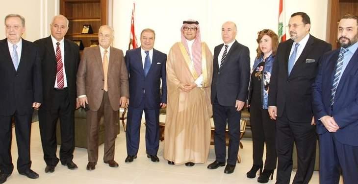 البخاري زار نقابة الصحافة: حريصون دائما على تعزيز أمن لبنان واستقراره