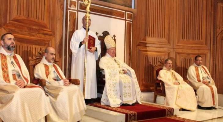 مطر احتفل بعيد القديس جرجس:  هذا القديس دافع بدمه عن كنيسة المسيح