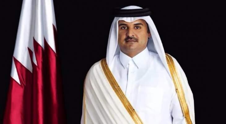 امير قطر: حل الأزمة الخليجية يكون عبر الحوار وعدم التدخل بشؤون الدول