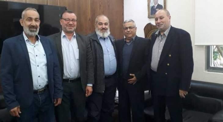 """وفد من """"انصار الله """"التقى مسوؤل الملف الفلسطيني بمخابرات الجيش اللبناني"""