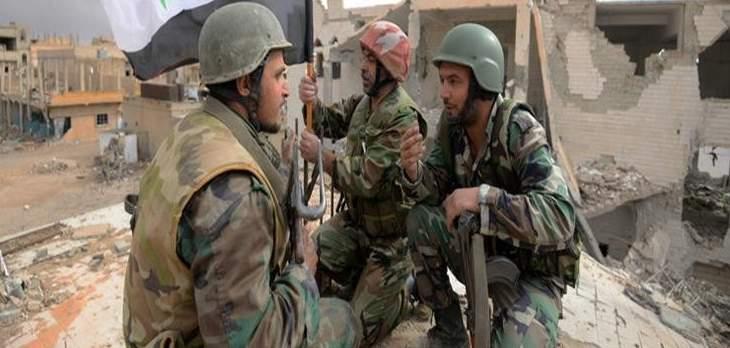 الدفاع السورية:الجيش السوري طرد تنظيم داعش من بادية دير الزور بالكامل