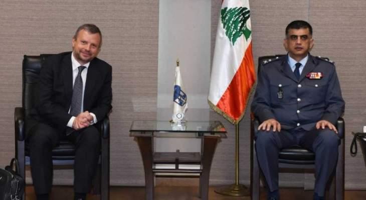 اللواء عثمان التقى ممثلين عن شركة Moët Hennessy - (LVMH) Group