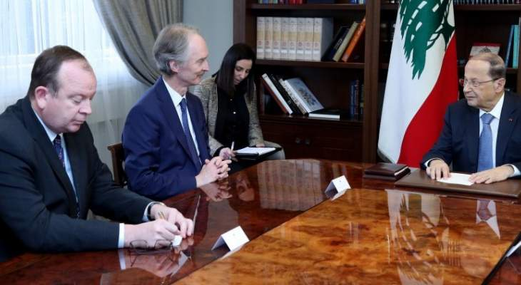الرئيس عون: لبنان لم يعد قادرا على تحمل تداعيات النزوح ولا بد من العمل جديا لإعادتهم