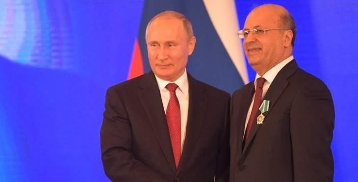 جورج شعبان: أتعهد الإستمرار بالعمل على توطيد العلاقات بين لبنان وروسيا