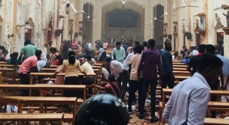 مسيحيو سريلانكا يتابعون قداس الأحد عبر شاشات التلفزيون للأسبوع الثاني