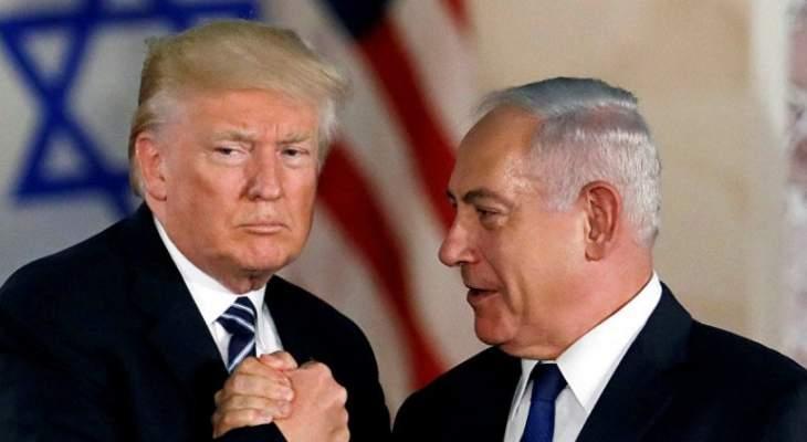 نتانياهو: سأطلق اسم ترامب على قرية أو مدينة في هضبة الجولان