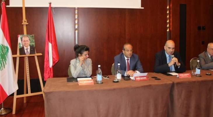 خوري:الوزارة ستواصل التنسيق مع الوزارت الأخرى بهدف حماية النبيذ اللبناني وتطويره
