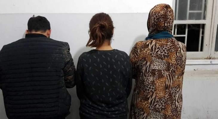 قوى الأمن: توقيف عصابة نشل في محلة صحراء الشويفات