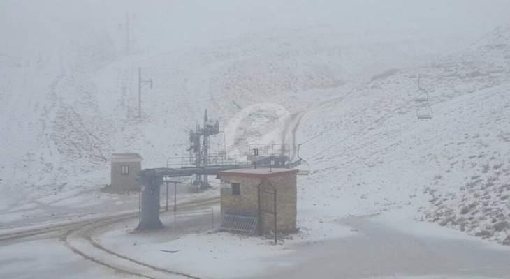 طريق كفرذبيان-حدث بعلبك وطريق القبيات-الهرمل مقطوعتان بسبب تراكم الثلوج