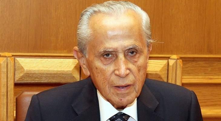 وفاة النائب السابق عبد اللطيف الزين