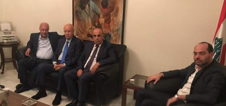 مراد استقبل رئيس تجمع الصناعيين بالبقاع وبحث معه المعابر غير الشرعية