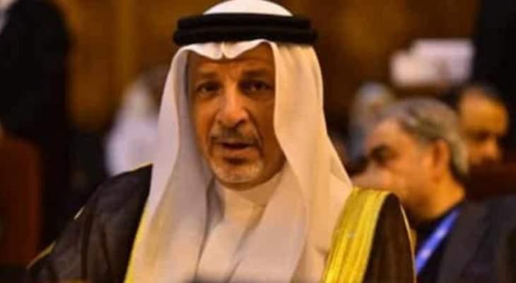 قطان: السعودية ستقف مع السودان حتى يستعيد استقراره