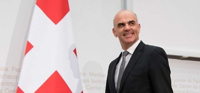 الرئيس السويسري غدا في بيروت في زيارة رسمية تلبية لدعوة الرئيس عون