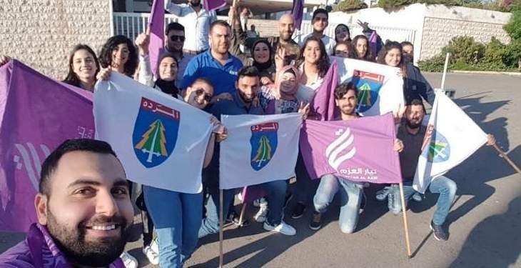 فوز تحالف العزم والمردة برئاسة مجلس طلاب اليسوعية في القلمون